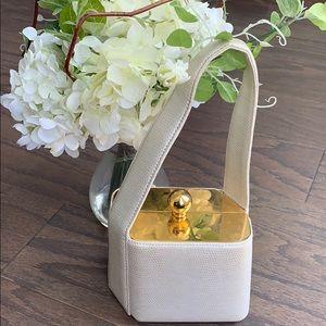 Vintage mini box purse